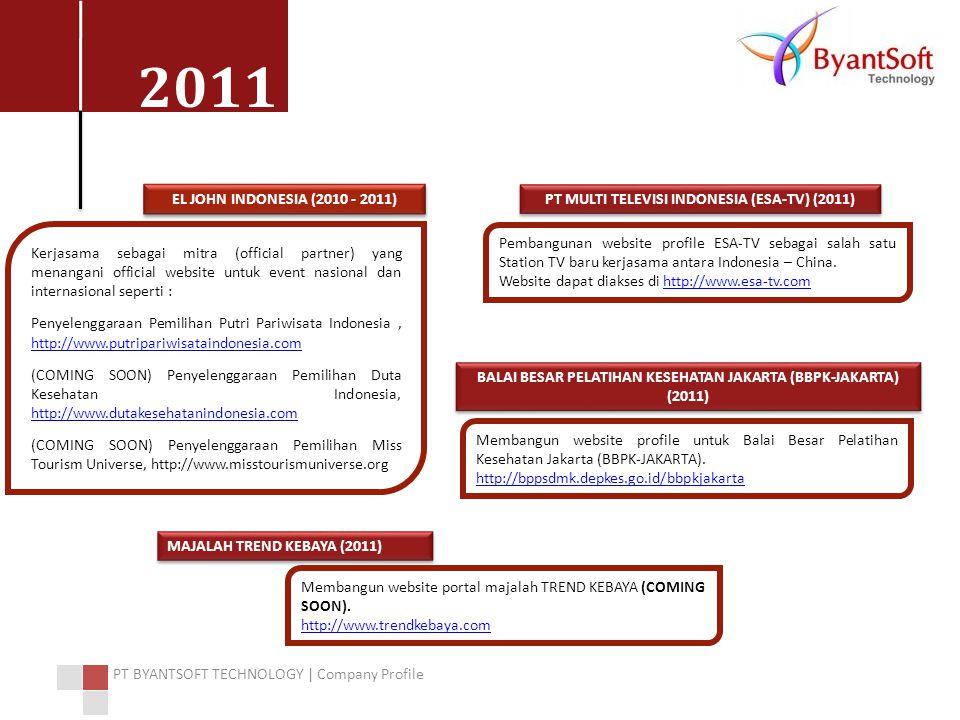 PT MULTI TELEVISI INDONESIA (ESA-TV) (2011)