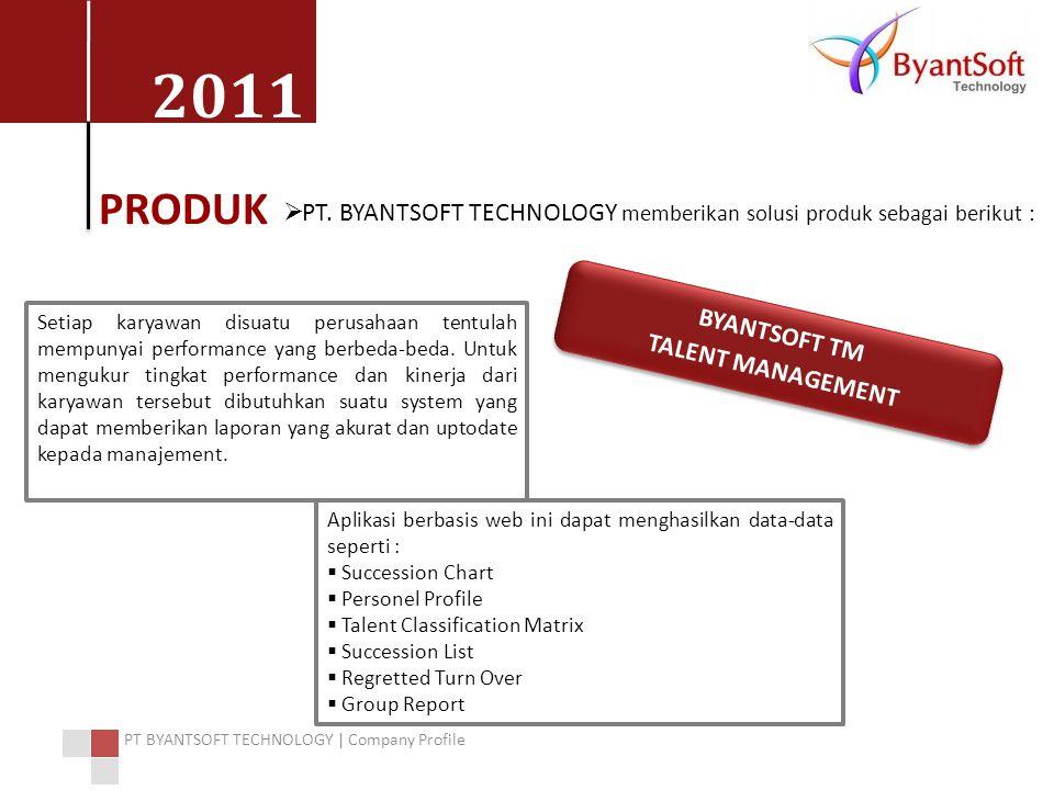 PRODUK PT. BYANTSOFT TECHNOLOGY memberikan solusi produk sebagai berikut :