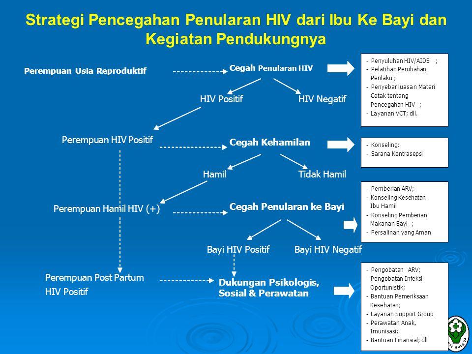Strategi Pencegahan Penularan HIV dari Ibu Ke Bayi dan Kegiatan Pendukungnya