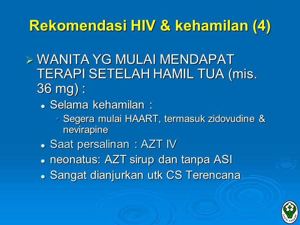 Rekomendasi HIV & kehamilan (4)