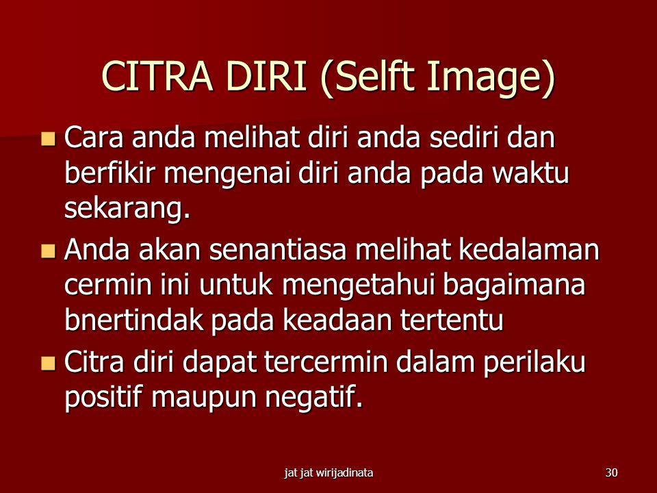 CITRA DIRI (Selft Image)