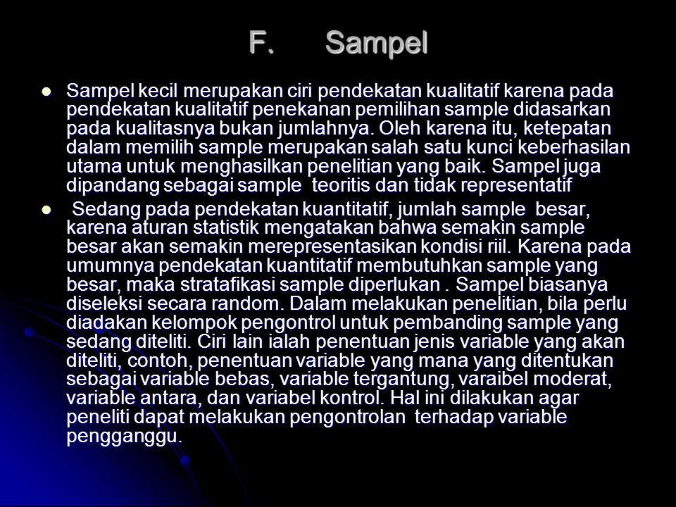 F. Sampel