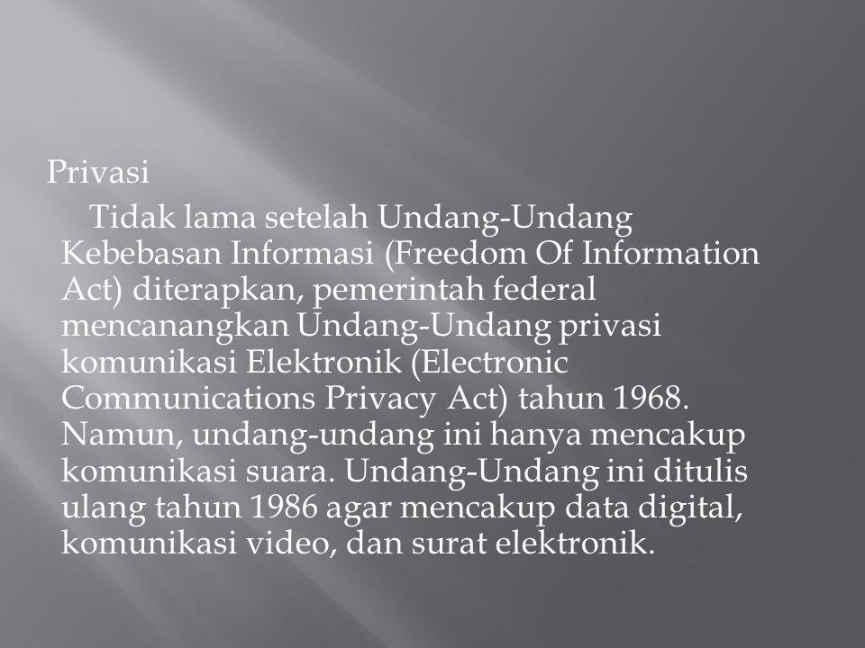 Privasi