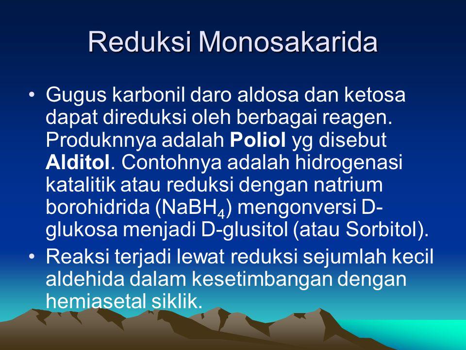 Reduksi Monosakarida