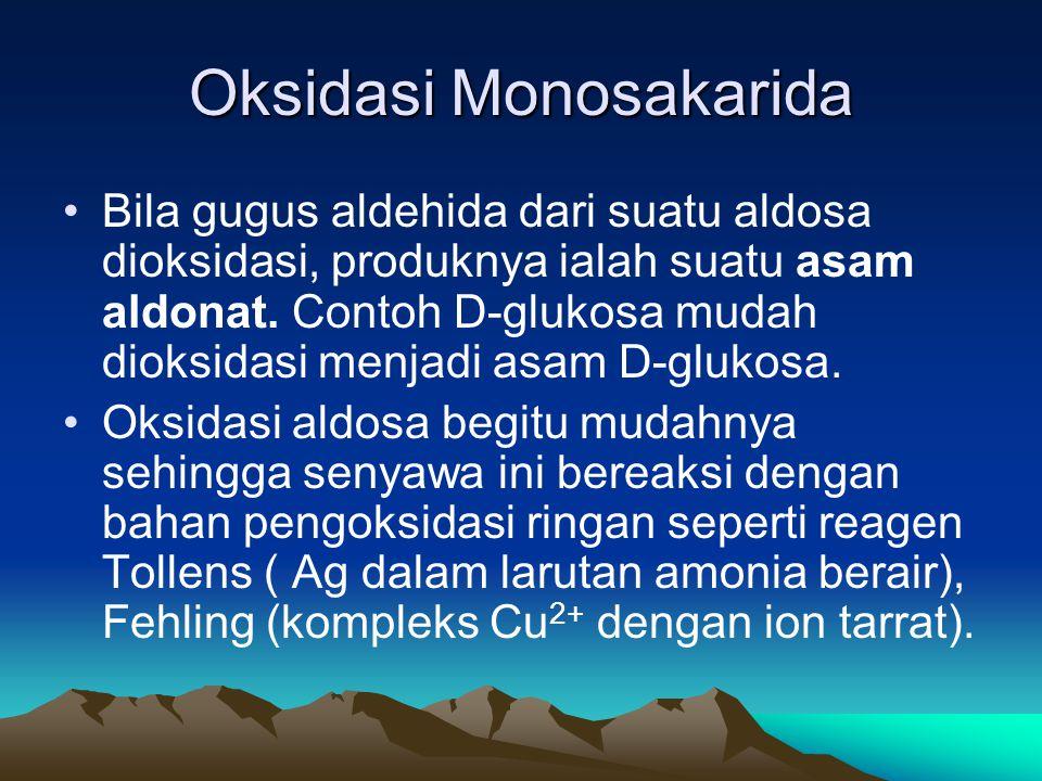 Oksidasi Monosakarida