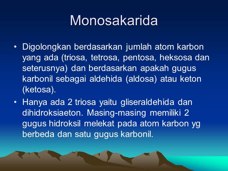 Monosakarida