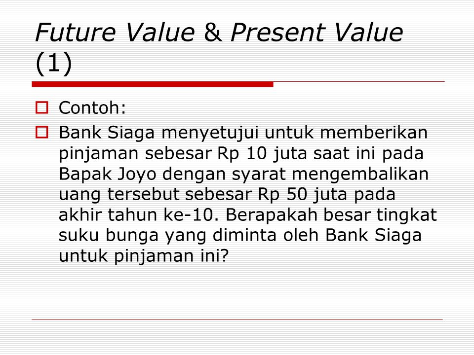 Future Value & Present Value (1)