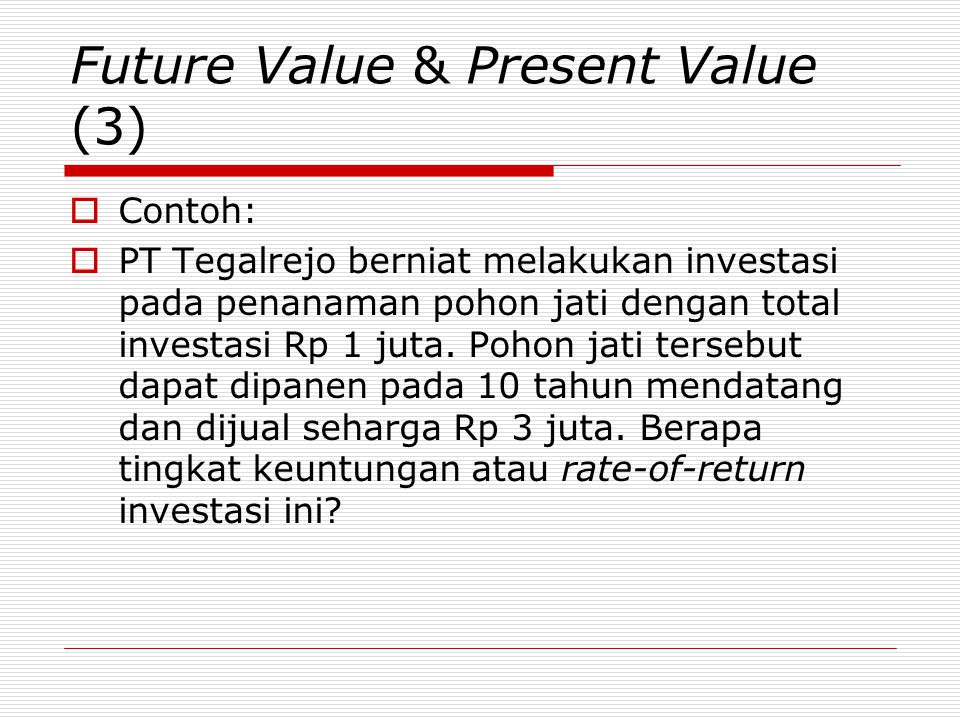 Future Value & Present Value (3)