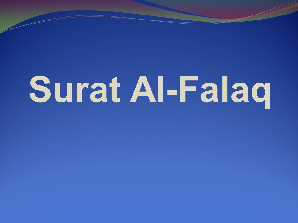 Surat Al-Falaq