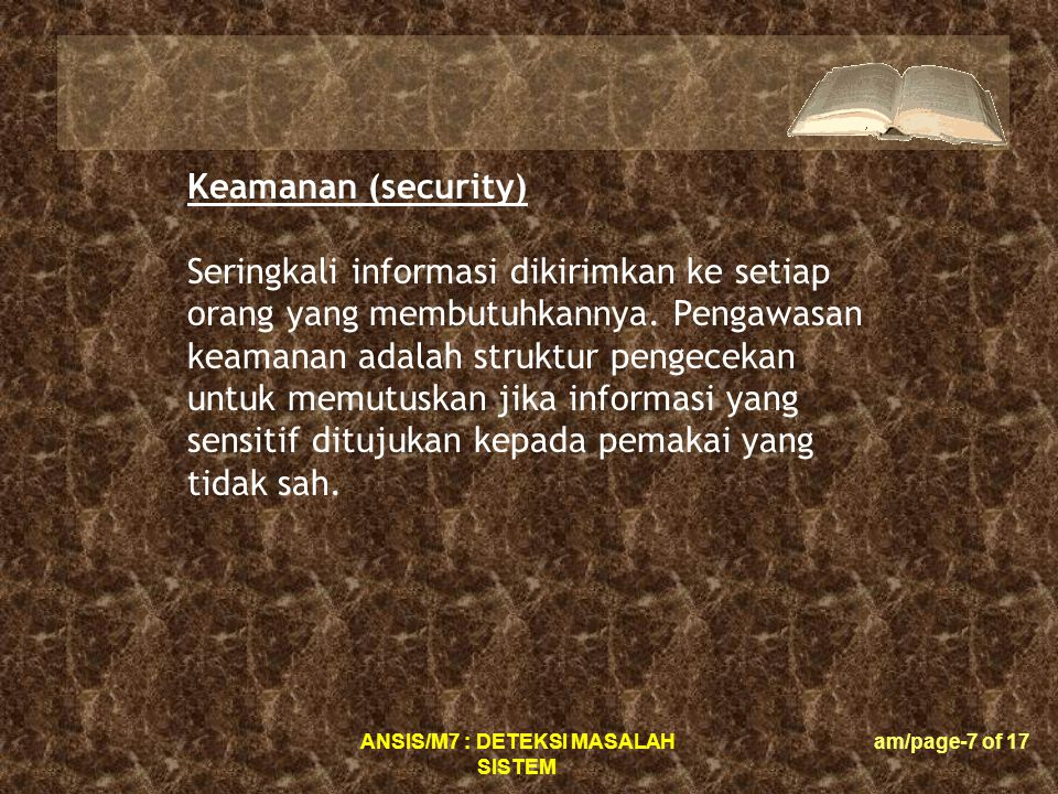 Keamanan (security)