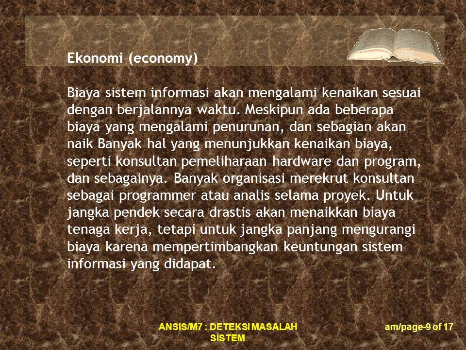 Ekonomi (economy)