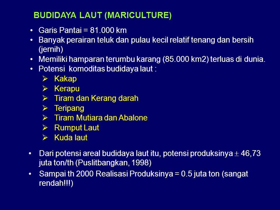 BUDIDAYA LAUT (MARICULTURE)