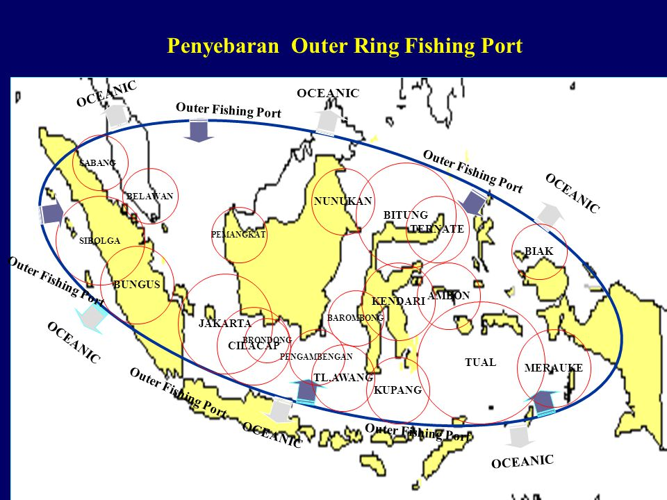 Penyebaran Outer Ring Fishing Port
