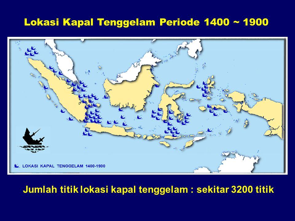 Lokasi Kapal Tenggelam Periode 1400 ~ 1900