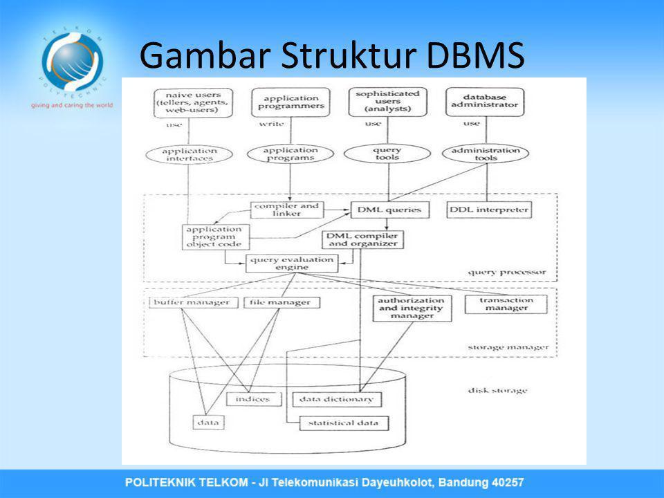 Gambar Struktur DBMS