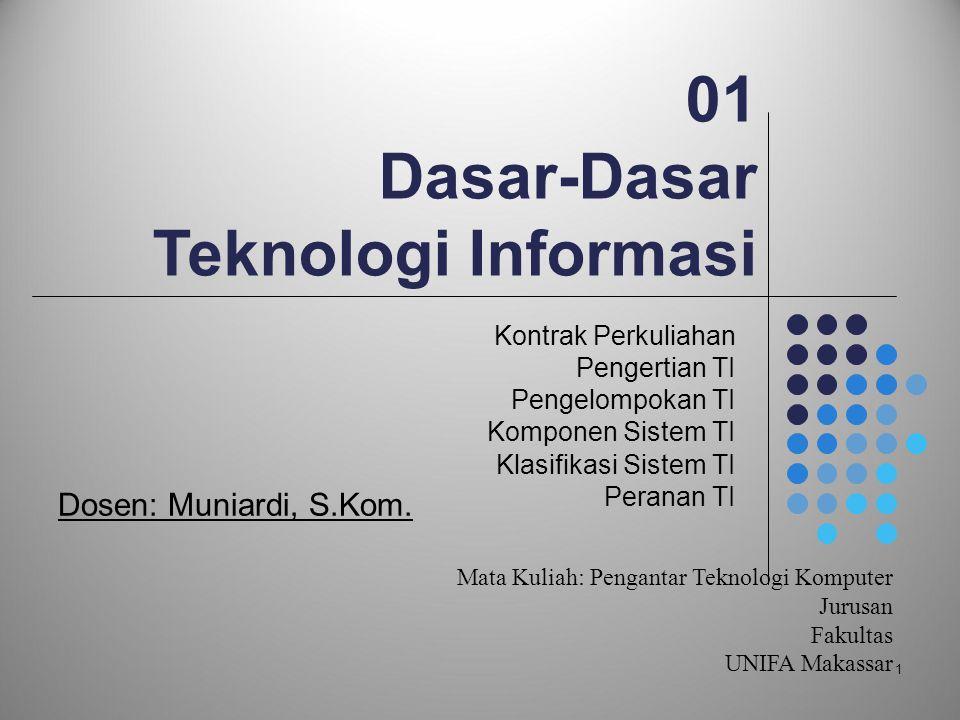 01 Dasar-Dasar Teknologi Informasi