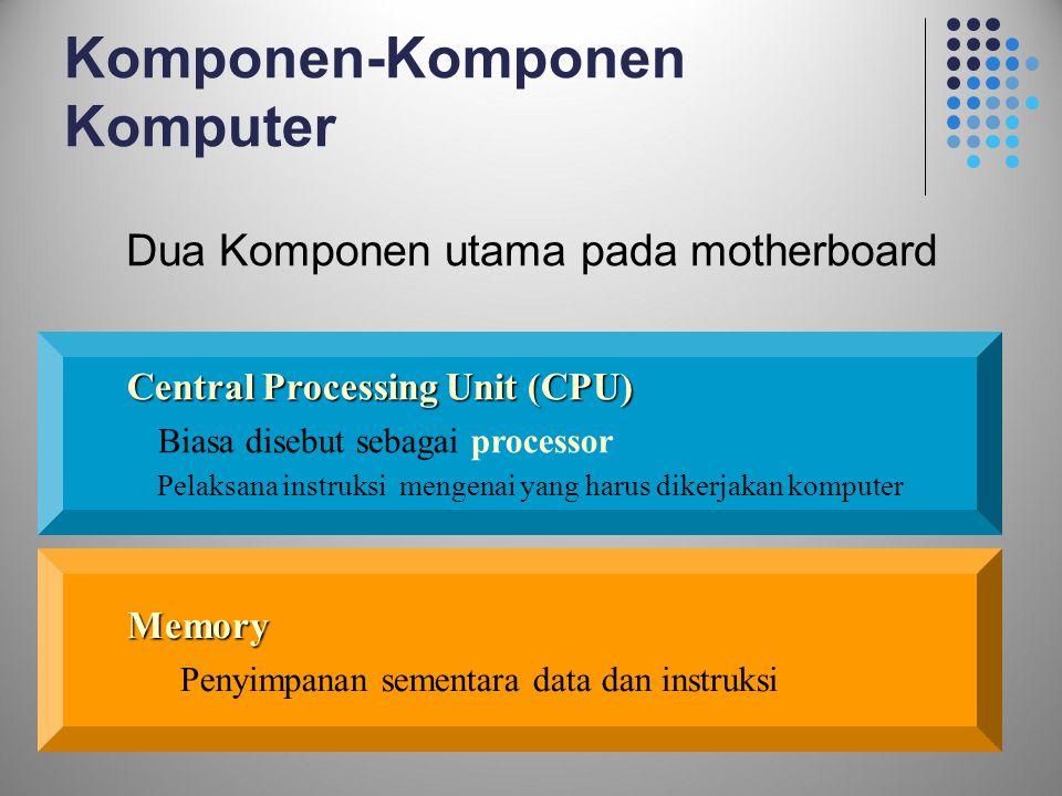 Dua Komponen utama pada motherboard
