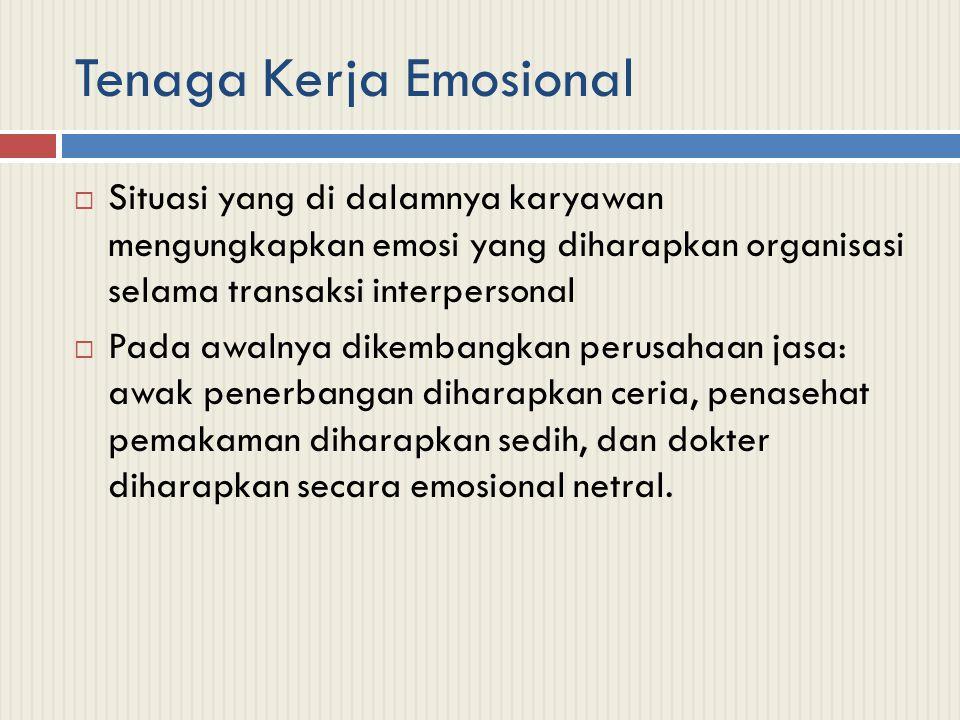 Tenaga Kerja Emosional