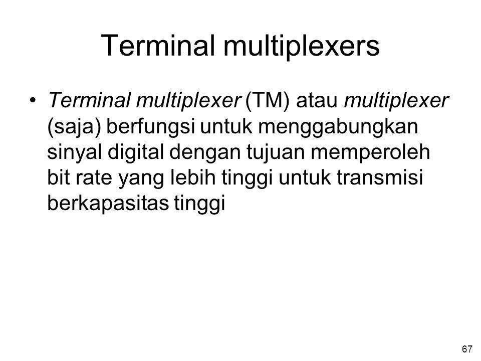Terminal multiplexers