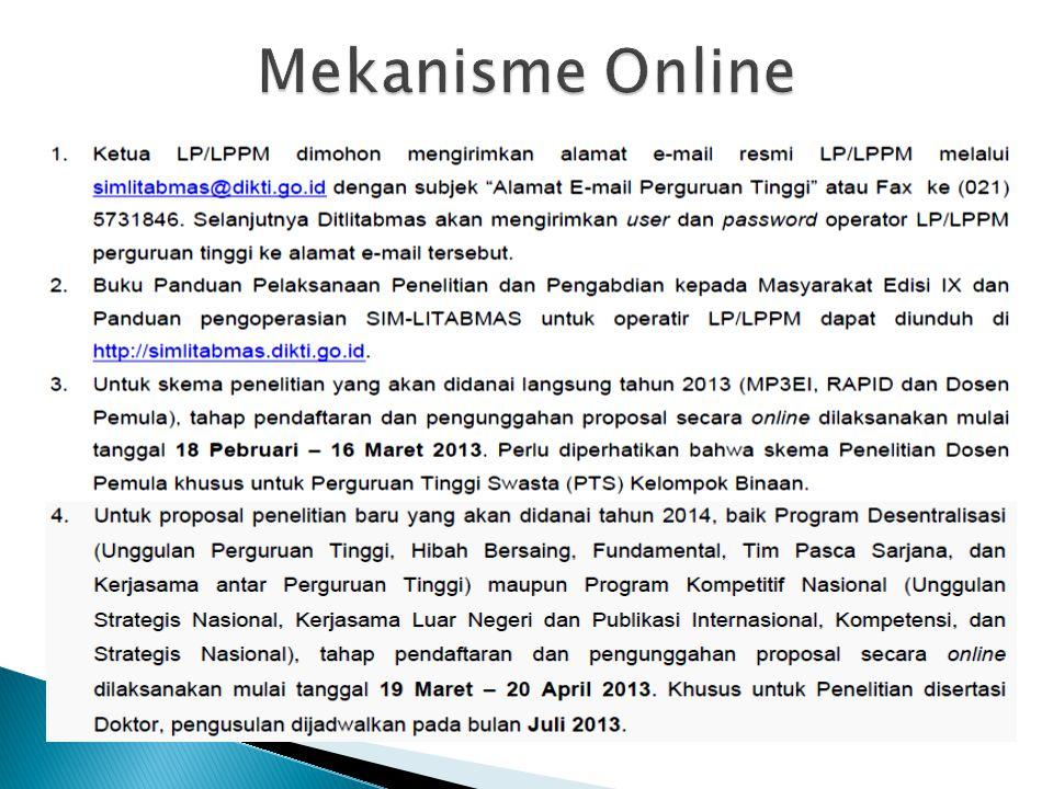 Mekanisme Online