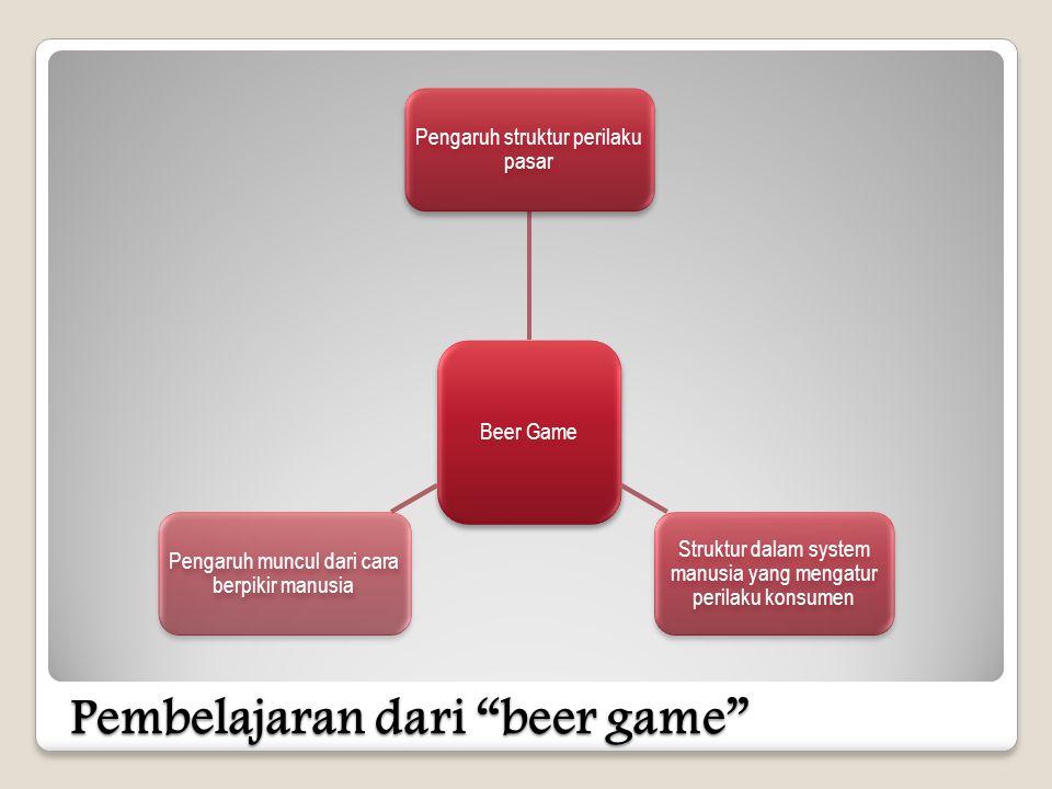 Pembelajaran dari beer game