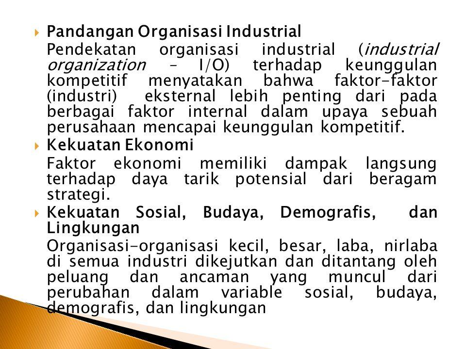Pandangan Organisasi Industrial
