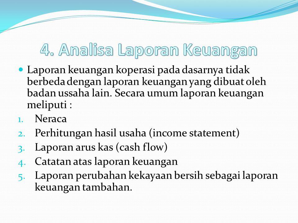 4. Analisa Laporan Keuangan