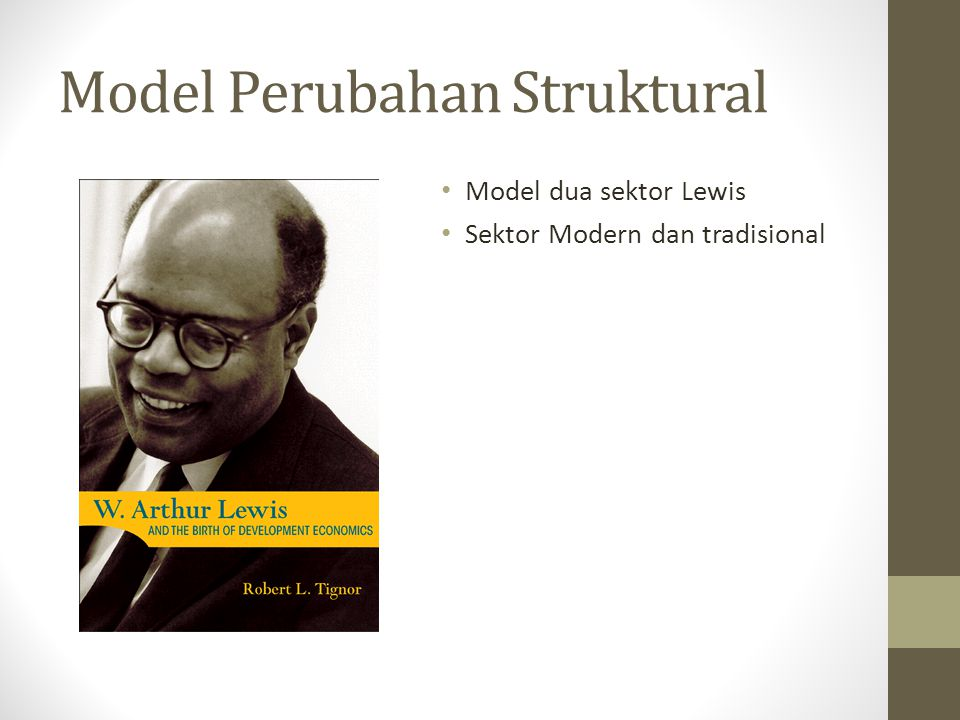 Model Perubahan Struktural