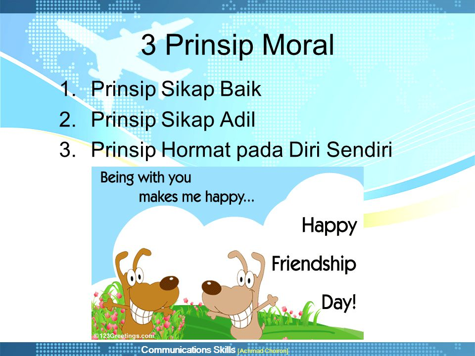 3 Prinsip Moral Prinsip Sikap Baik Prinsip Sikap Adil