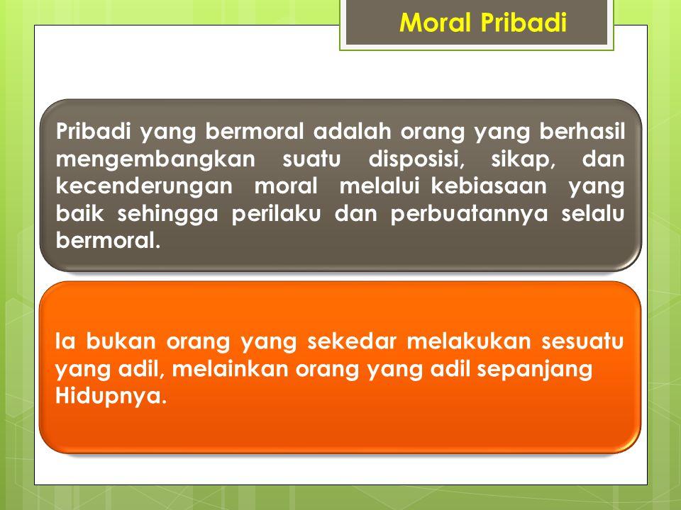Moral Pribadi