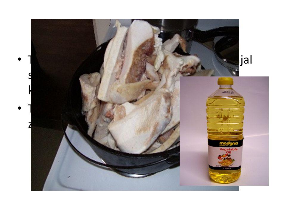 id Tristearin, komponen utama dr lemak ginjal sapi.