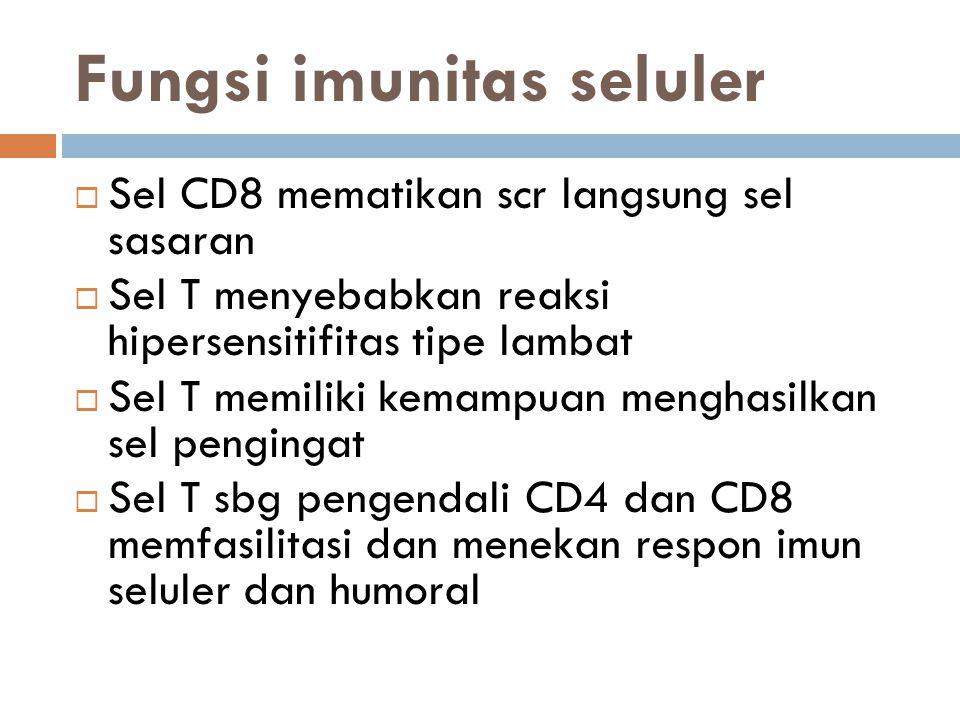 Fungsi imunitas seluler