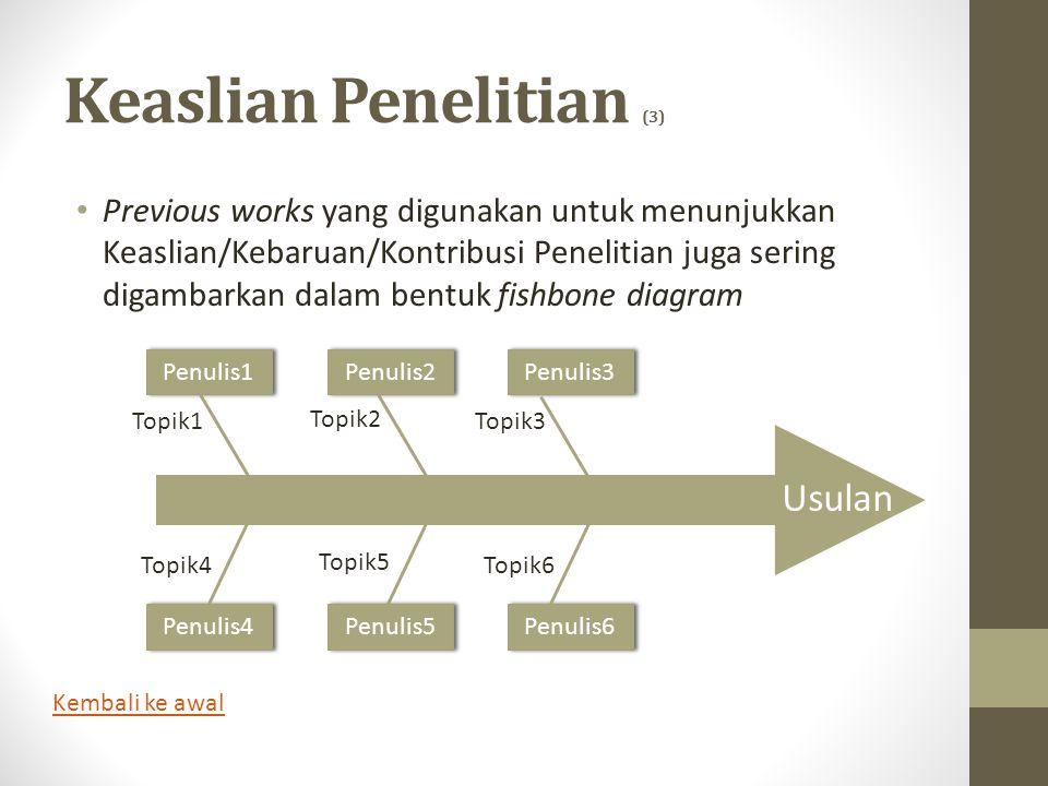 Keaslian Penelitian (3)