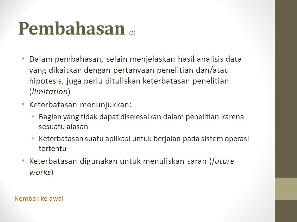 Pembahasan (2)