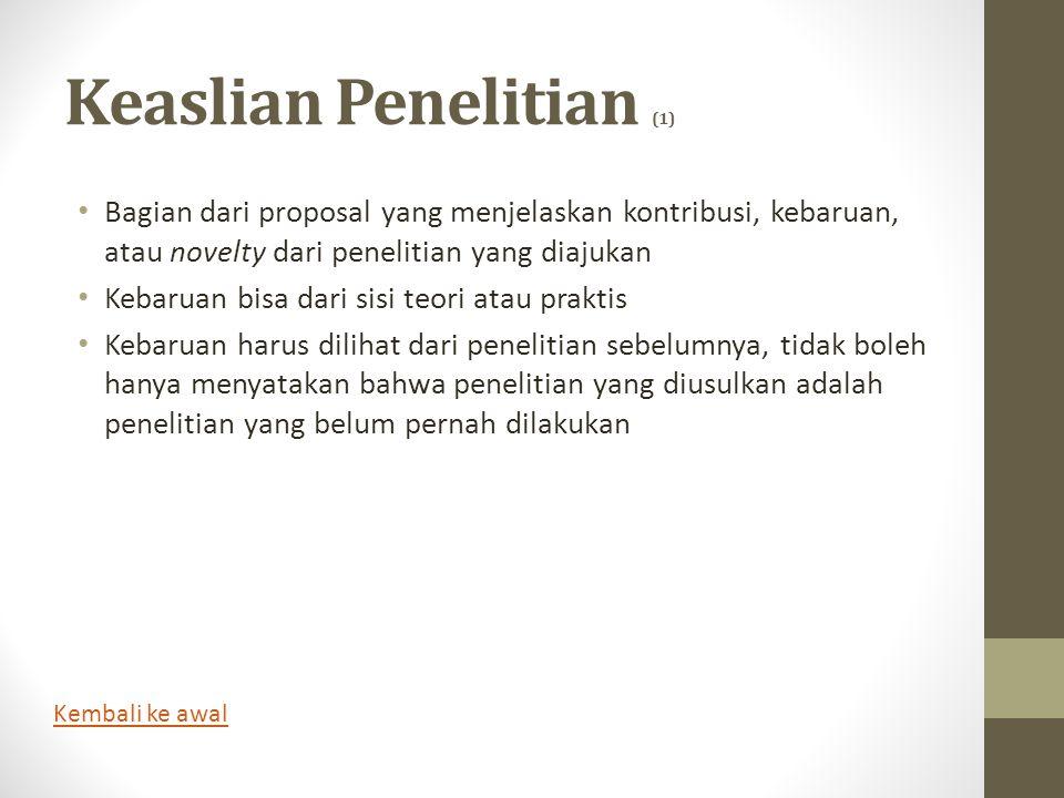 Keaslian Penelitian (1)