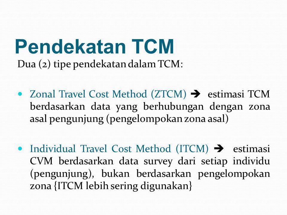 Pendekatan TCM Dua (2) tipe pendekatan dalam TCM: