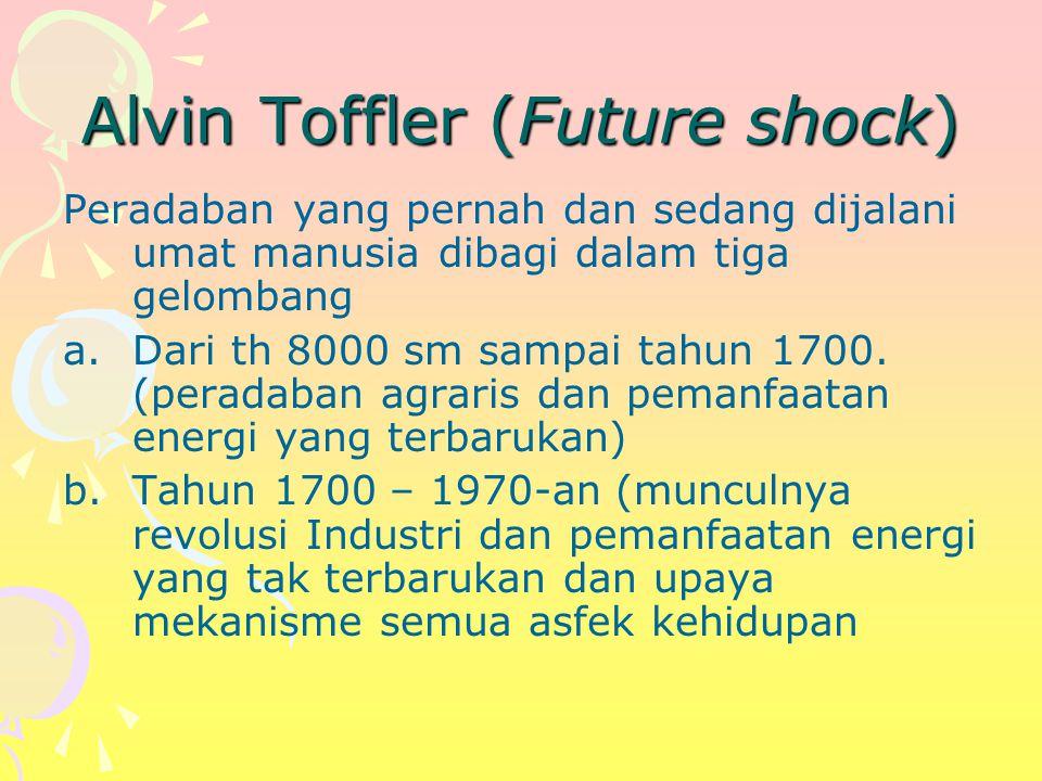 Alvin Toffler (Future shock)
