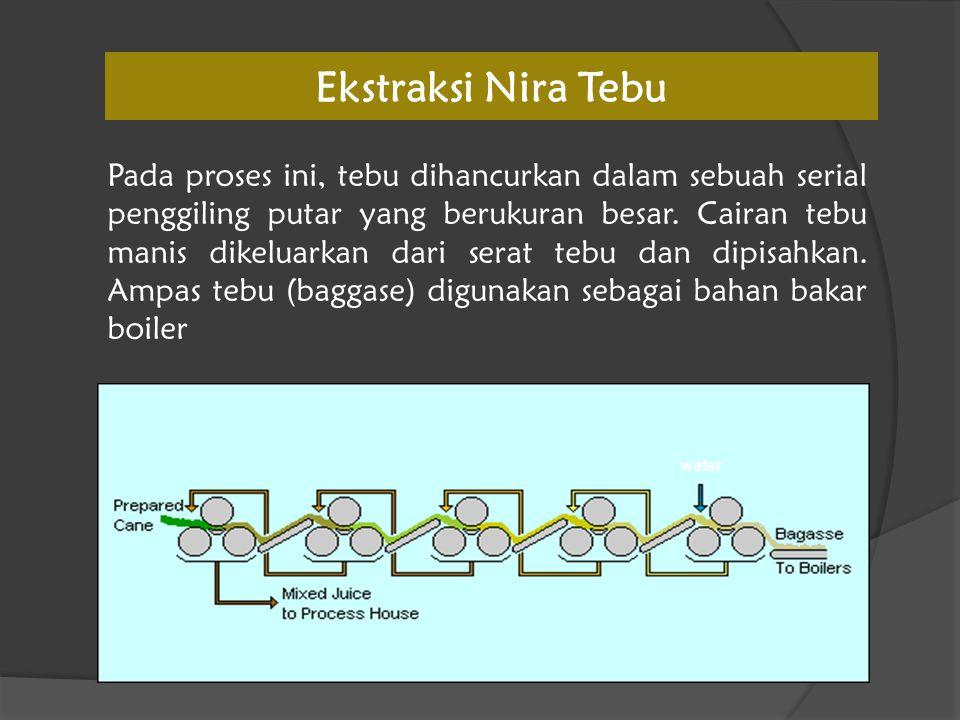 Ekstraksi Nira Tebu