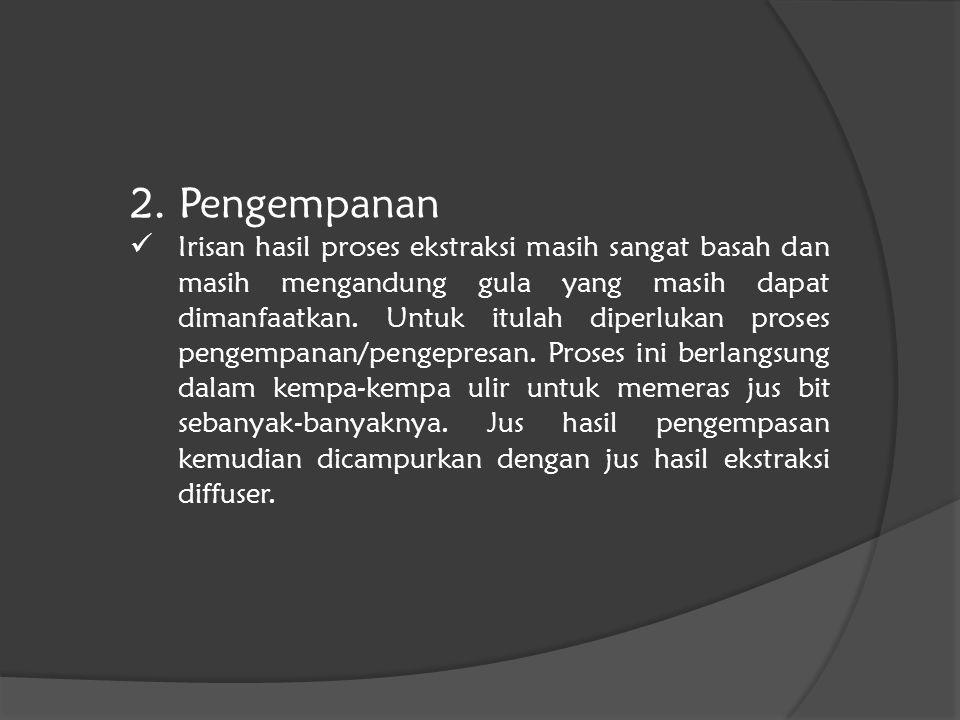 2. Pengempanan