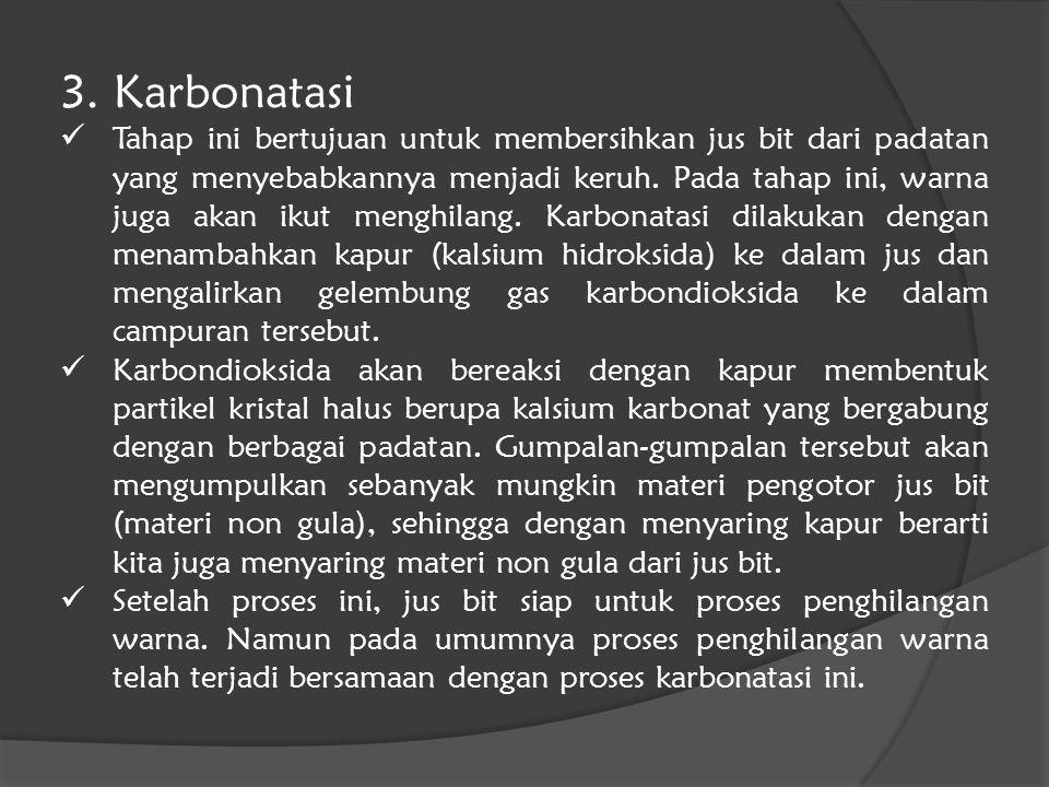 3. Karbonatasi