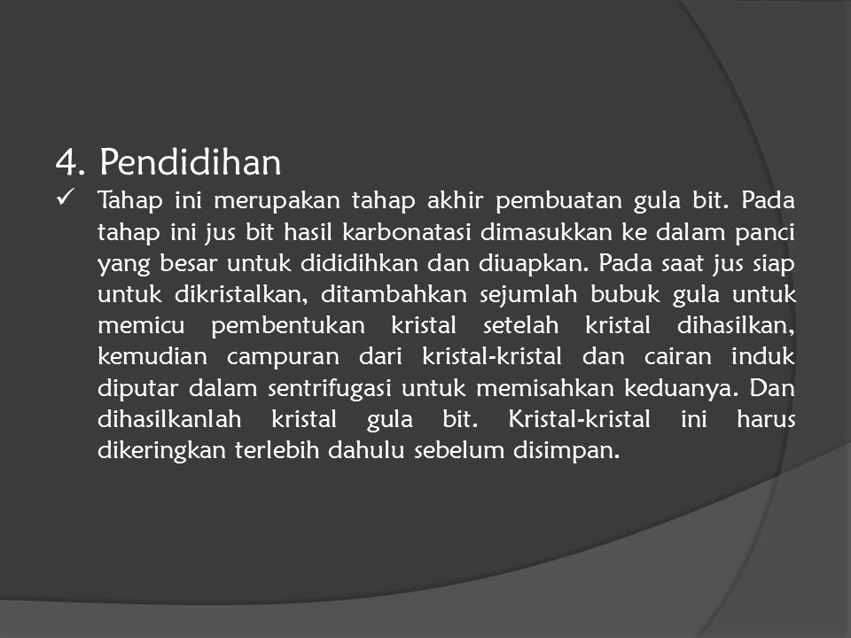 4. Pendidihan