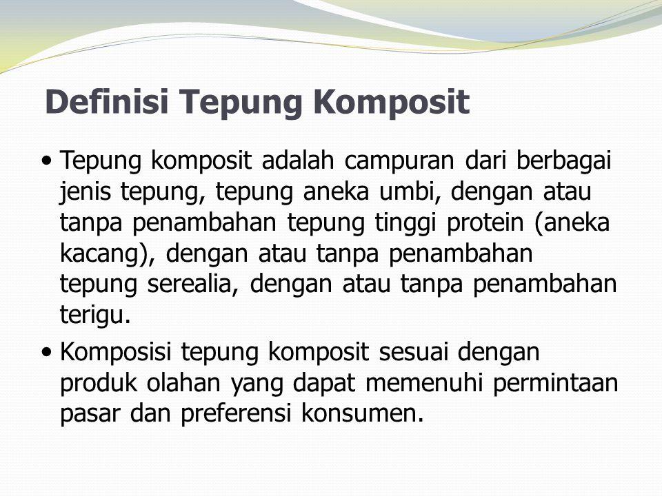 Definisi Tepung Komposit