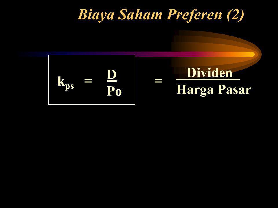 Biaya Saham Preferen (2)