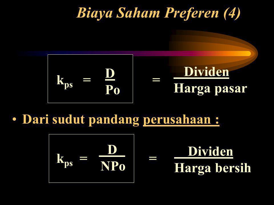 Biaya Saham Preferen (4)
