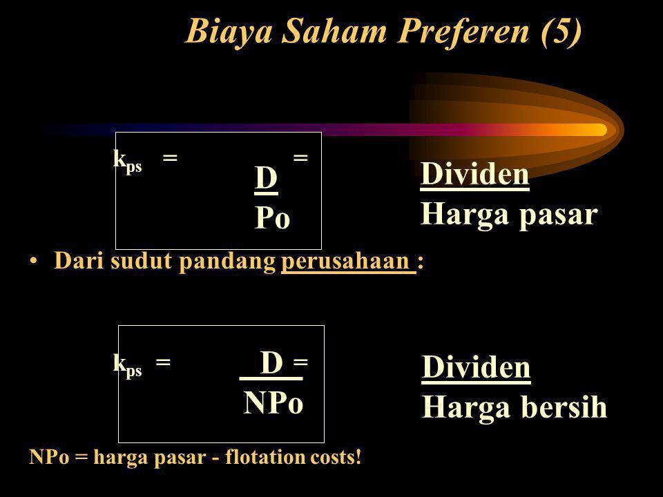 Biaya Saham Preferen (5)