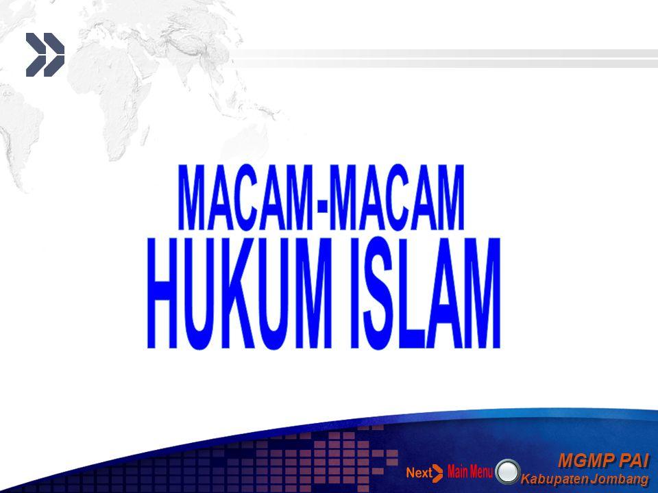 MACAM-MACAM HUKUM ISLAM Next