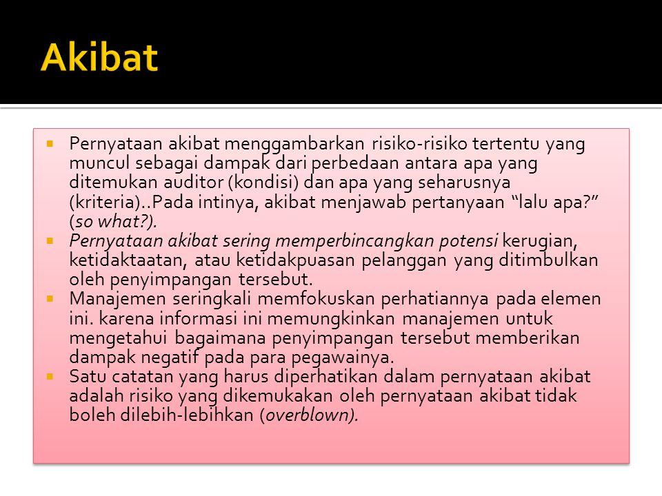 Akibat