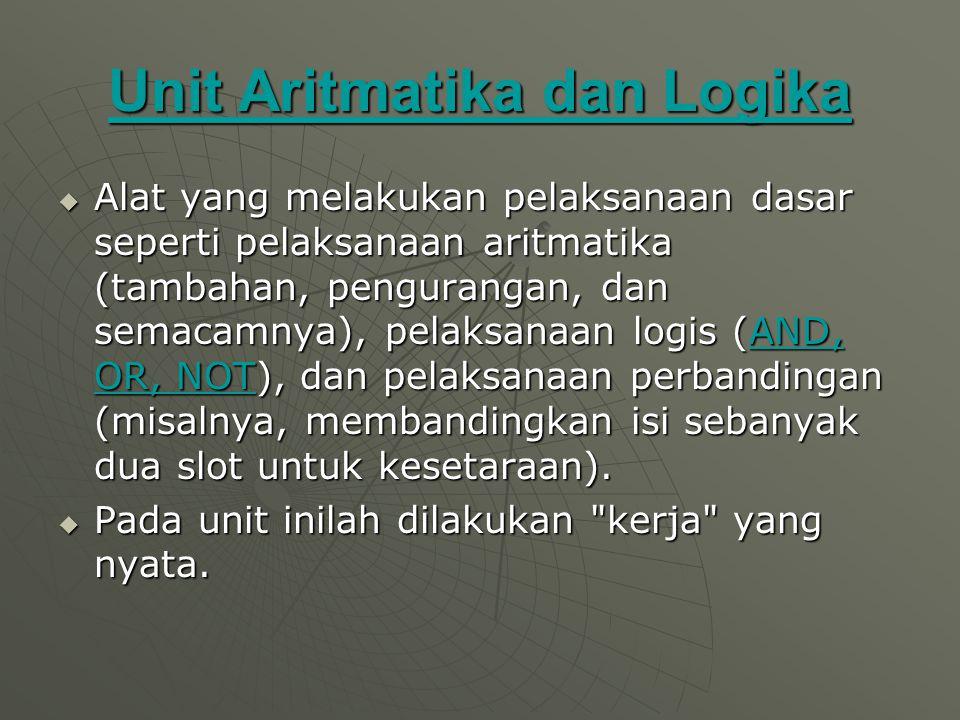 Unit Aritmatika dan Logika