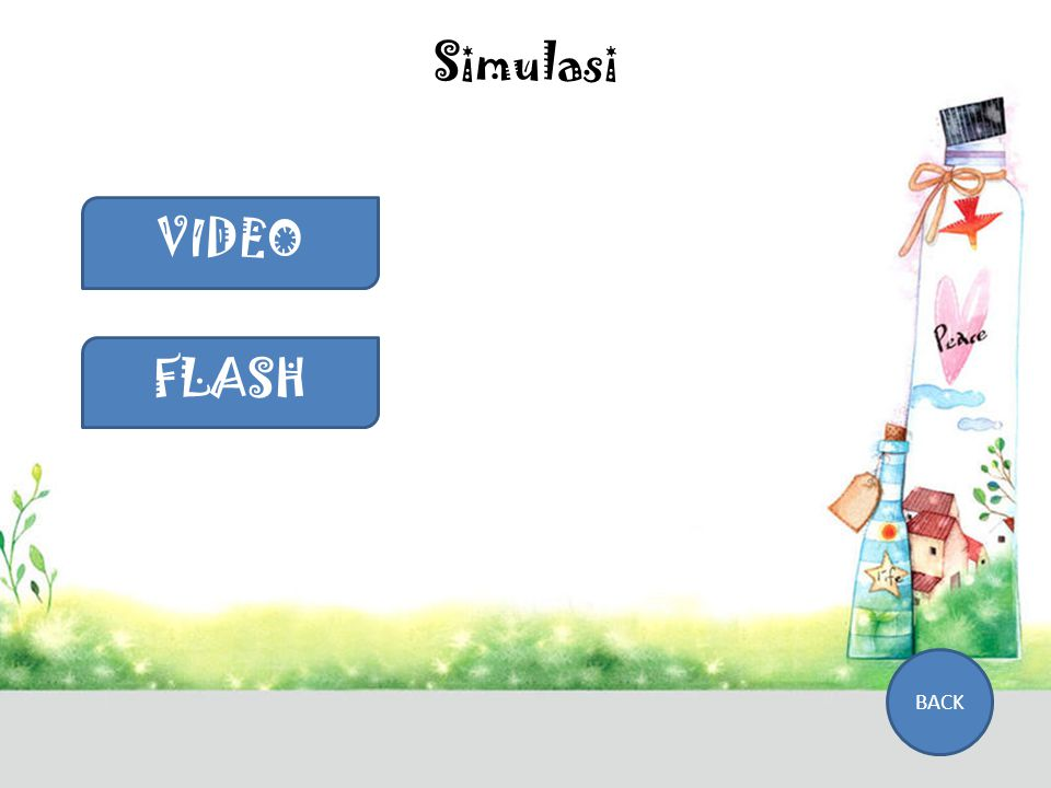Simulasi VIDEO FLASH BACK