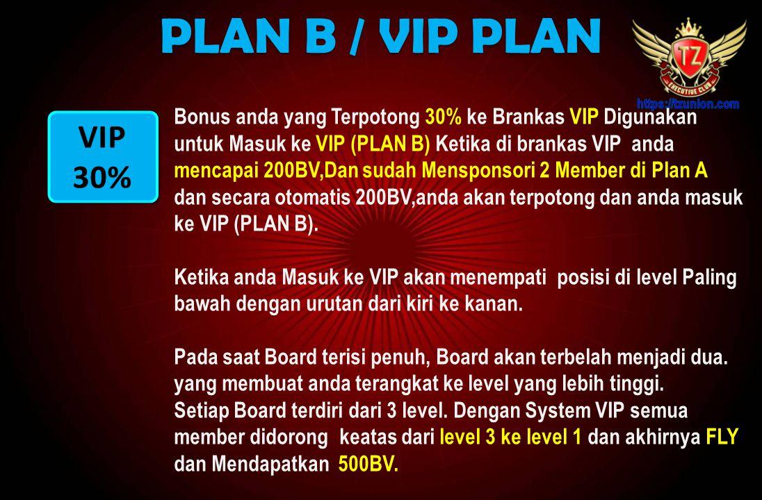 PLAN B / VIP PLAN